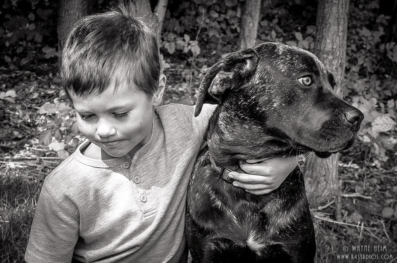 Best Friends - Black & White Photography by Wayne Heim