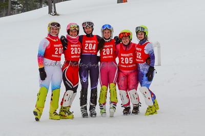 Men and Women  2nd run slalom