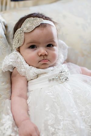 Juliette's 1st Baptism