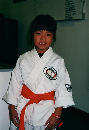 Sydney Karate Orange Belt 2000