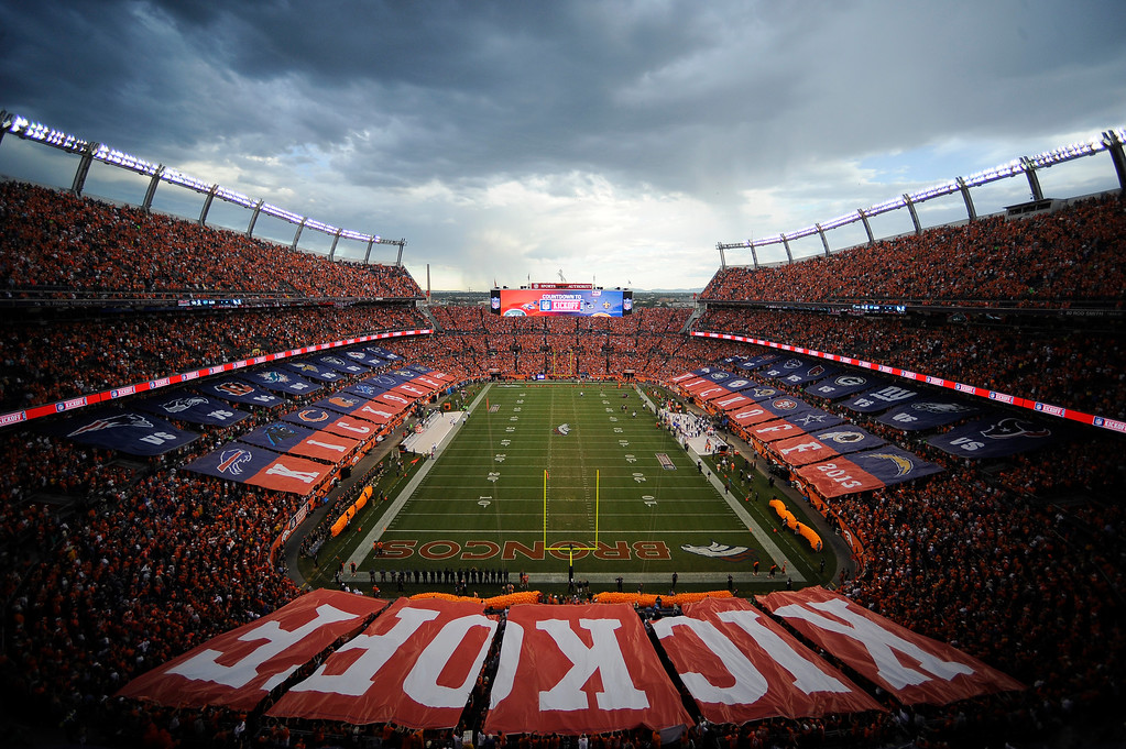 . The Denver Broncos took on the Baltimore Ravens in the first game of the 2013 season at Sports Authority Field at Mile High in Denver on September 5, 2013. (Photo by AAron Ontiveroz/The Denver Post)