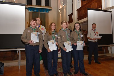 Chief Scouts Gold Award  Presentation - Farnham 2017