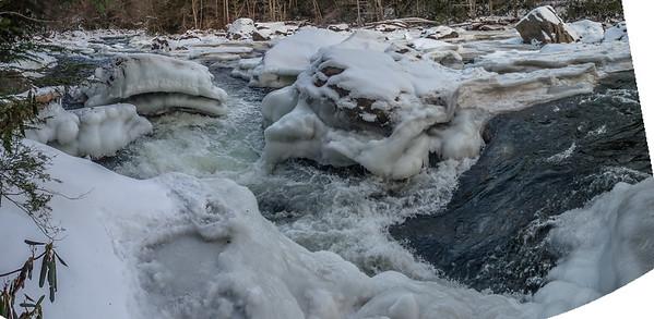 2018-01-07 Upper Yough, Ice Hike.