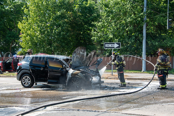 Carle Place Car Fire 06/29/2021