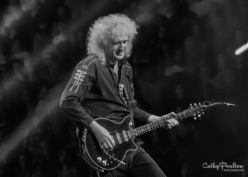 BRIAN MAY OF QUEEN IN PHILADELPHIA FOR NATIONAL ROCK REVIEW