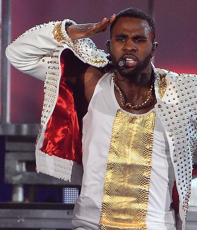 . Singer Jason Derulo performs onstage during the 2014 Billboard Music Awards at the MGM Grand Garden Arena on May 18, 2014 in Las Vegas, Nevada.  (Photo by Ethan Miller/Getty Images)