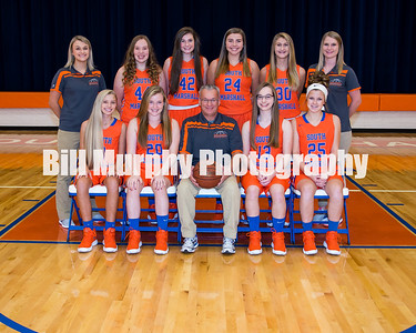 2017 - 2018 South Marshall Middle School 8th Grade Girls Basketball