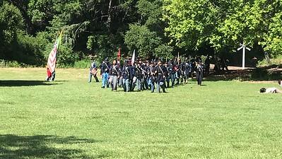 Civil War Reinactment Roaring Camp