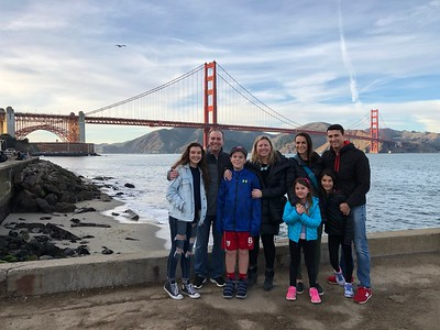 Dec. 28-30: San Francisco with Alex, Shari, Taylor, Hannah and the Bard Vineyard