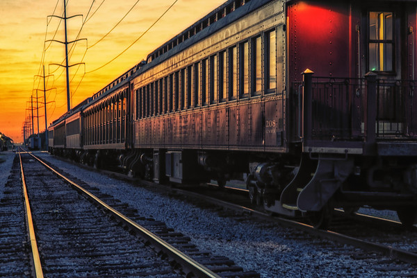 Grapevine - Train Station - Sunrise Sept. 2013