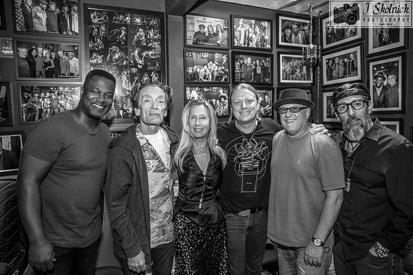 2/18/18 More shots GE Smith event Funky Biscuit withTaylor Barton, GE Smith,  Matt Schofield, Mark Telesca, Jay Stollman, and Jonathan Joseph