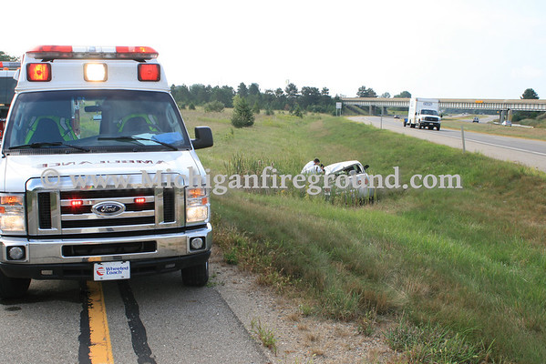 8/23/10 - Mason rollover with extrication, NBD US-127 entrance ramp from Cedar St