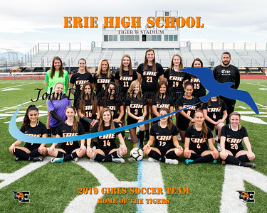2019 EHS Girls Soccer Team Pictures