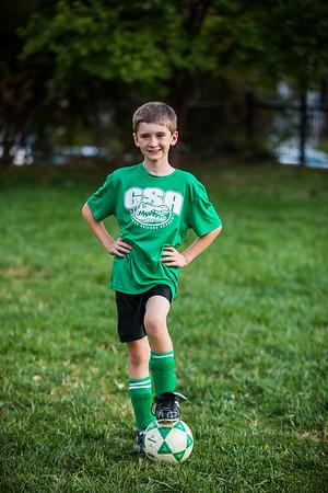 2nd Grade Boys Fall Soccer 2017