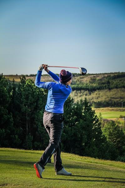 Anna Sólveig Snorradóttir Íslandsmót golf 2019 Grafarholt - 1. keppnisdagur. Mynd: seth@golf.is