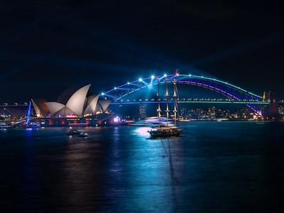 Vivid Sydney 2019 Mrs Macquarie Chair