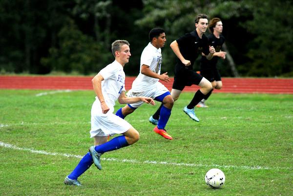 Varsity Soccer vs Collegiate
