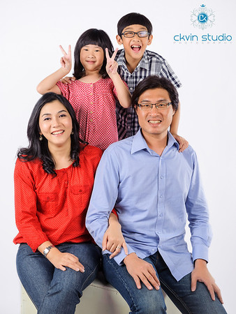 S.W Cheah Family