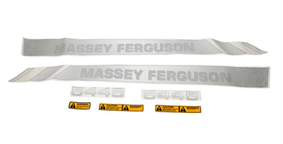 MASSEY FERGUSON 5445 SERIES STANDARD BONNET DECAL SET