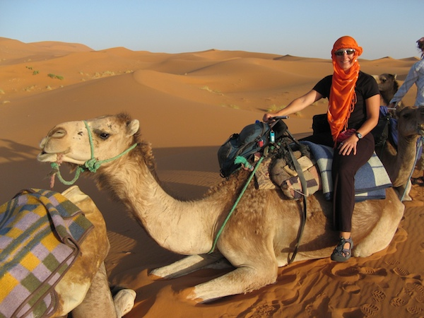 career break travel adventures in Morocco