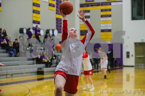 2019-01-25 Issaquah Girls Basketball vs Mount Si