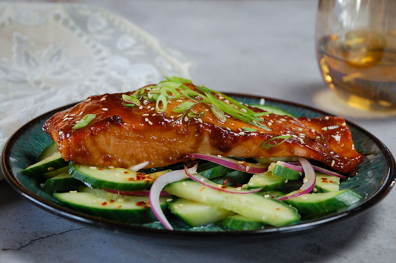 Maple Miso Salmon