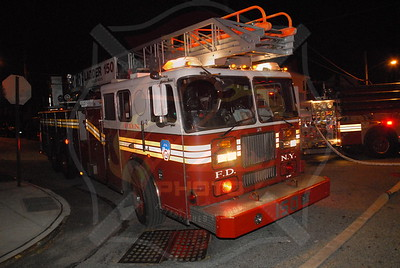 F.D.N.Y. Queens 2nd Alarm 218th St. and 136 Ave.10/28/10