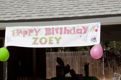 Zoey's Fifth Birthday