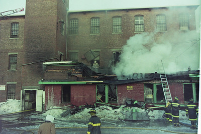 Multi Alarm Fire Saugus Ma. Central Street 02/28/94.