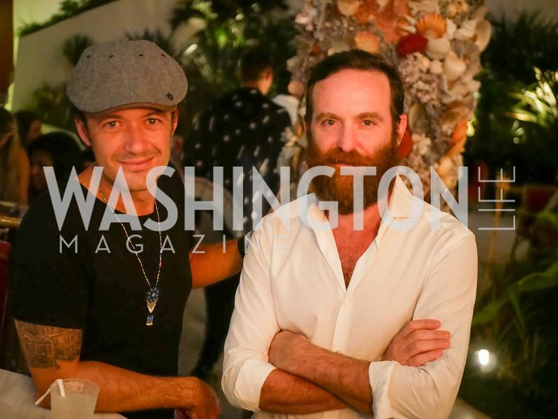 Enrique Benet, Pablo Levinas, The Faena, VIP Preview,  Art Basel, Miami Beach, December 2018. Photo by Ben Droz.