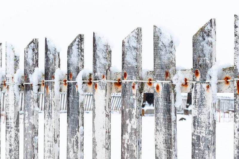 Weathering fence