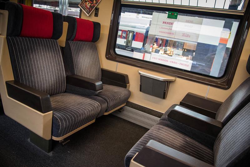 eurail first class cabin