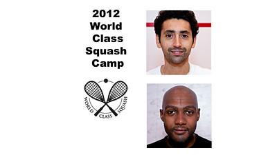 2012 World Class Squash Camp Exhibition Videos
