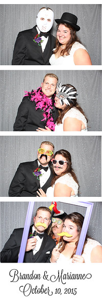 Marianne and Brandon's Photo Booth Pics