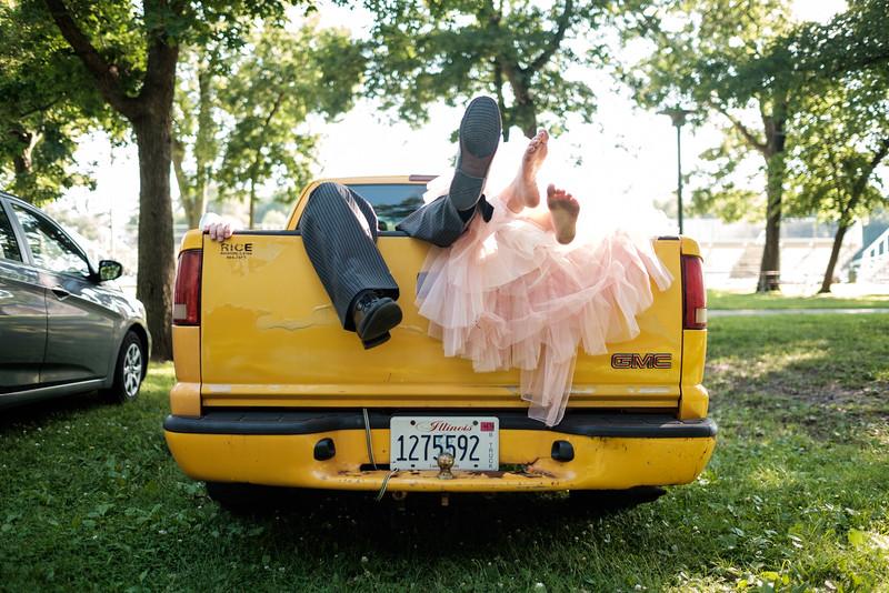Candid Fun Whimsical Rockford Wedding
