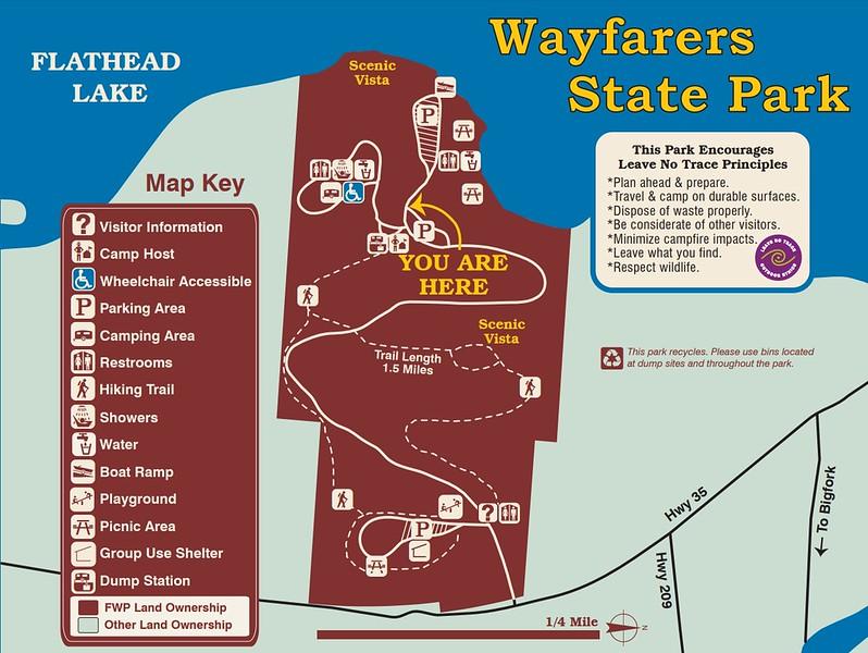 Wayfarers-Flathead Lake State Park