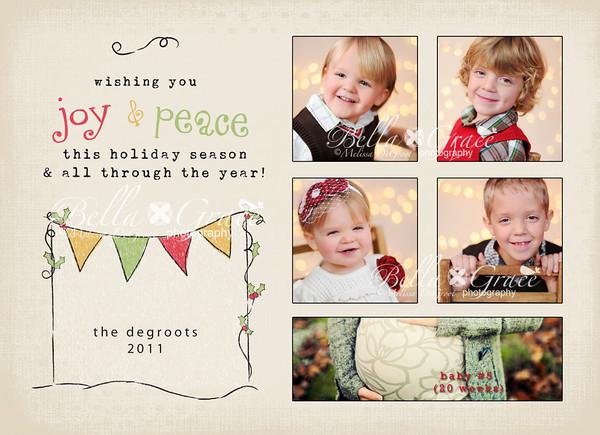 5x7 Christmas Cards