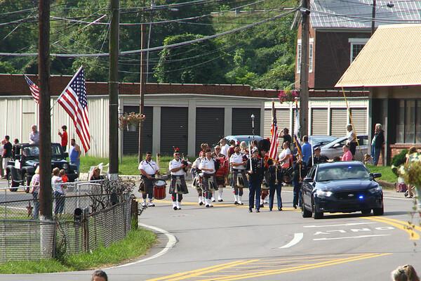 Riverside Color Guard at Marmet Labor Day Parade