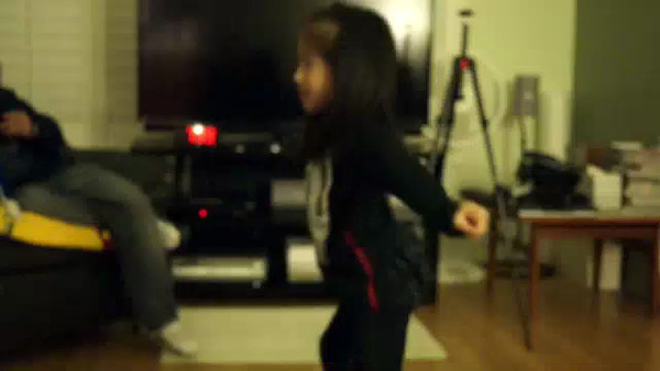 more of Ally dancing