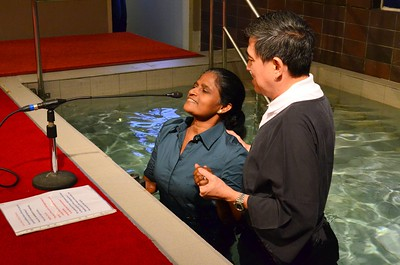 Baptism Service 10am 16 Aug 2015