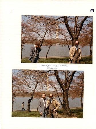 2 to 3-1984 USDA Friends - Cherry Blossoms