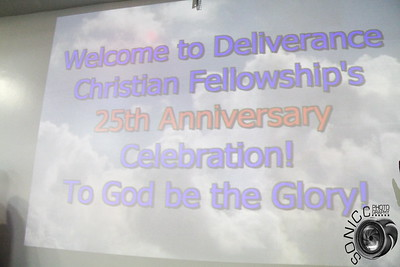 JULY 9TH, 2017: DELIVERANCE CHRISTIAN FELLOWSHIP 25TH YEAR ANNIVERSARY
