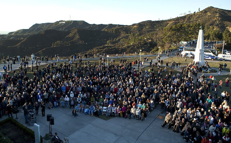 Sunset Salute to Huell Howser Griffith Observatory.jpg