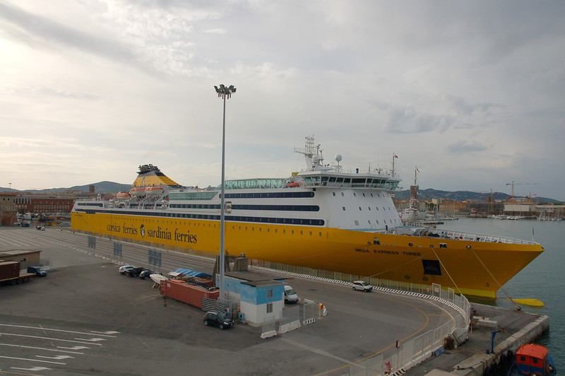 Corsica Ferries from Livorno to Bastia