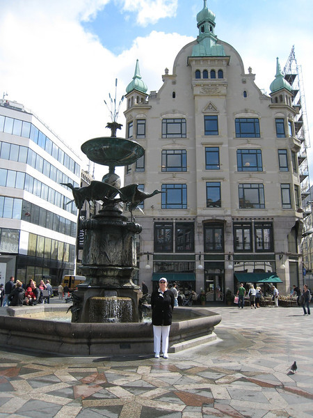 The Stork Fountain, Copenhagen