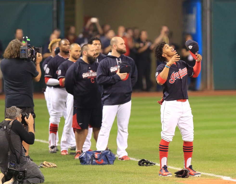 . Scenes from Game 7 of the World Series (Tim Phillis/The News-Herald)