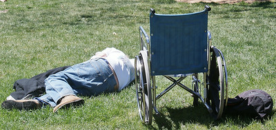 Homeless & Disabled In Denver