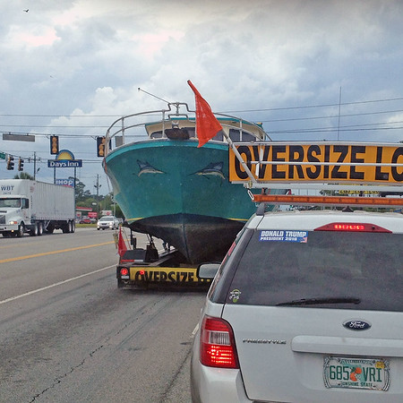 Ospo Heads for Miami after Sinking in Brunswick 04-22-16