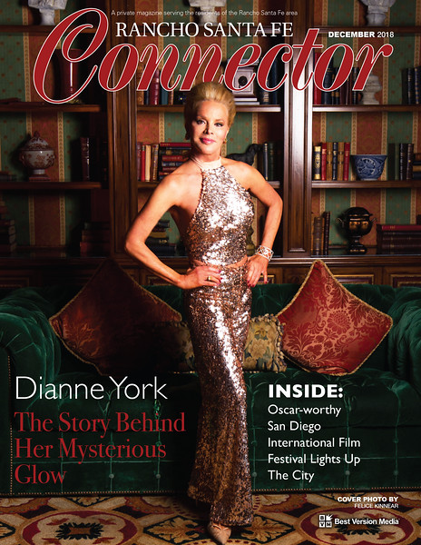 Cover photographed at The Fairmont Grand