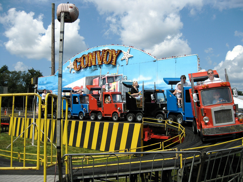 Convoy ride.